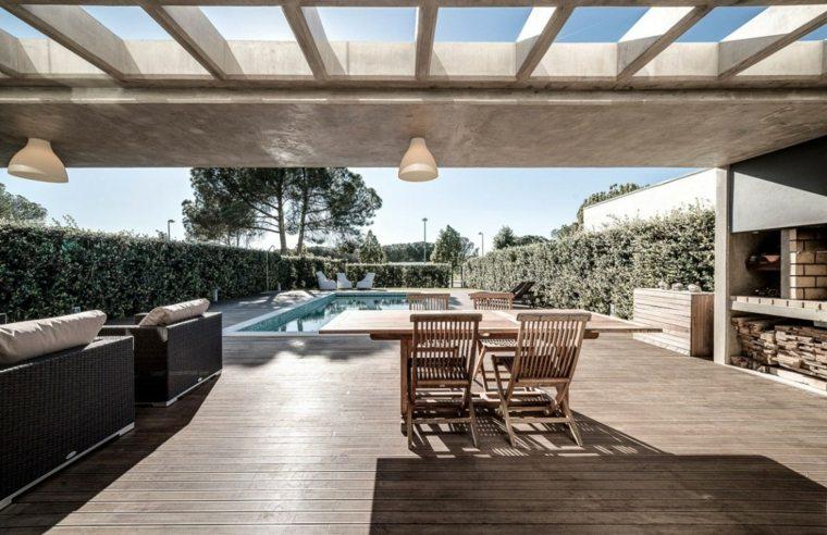 Grupo Dunaplana diseno casa jardin piscina ideas