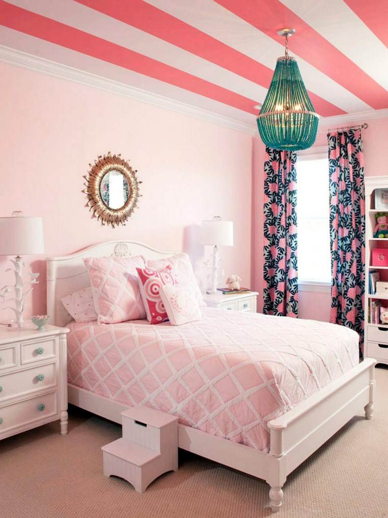 Liz Carroll habitacion nina diseno rosa ideas