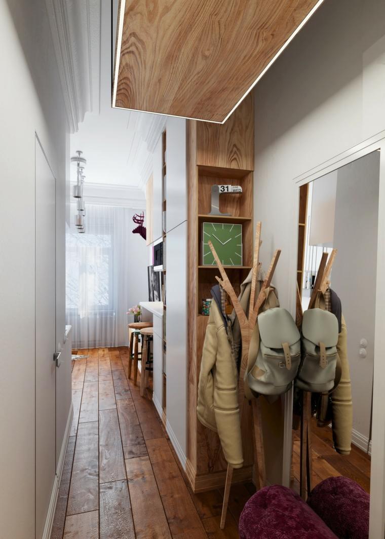 abrigos inmuebles salidas espacios madera