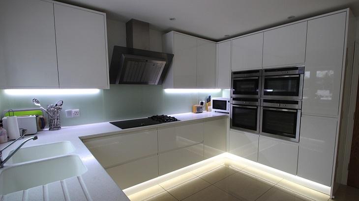 cocinas modernas distribucion detalles soluciones led