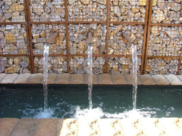 agua paredes divisiones etantes salones paredes