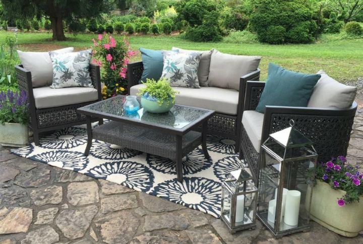 alfombras cuerdas sillas puertas muebles plantas