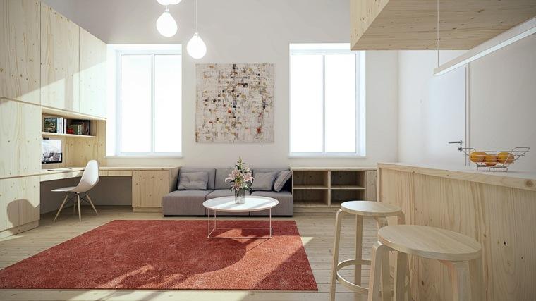 Apartamentos distribucion y dise o para interiores peque os - Apartamentos pequenos disenos ...