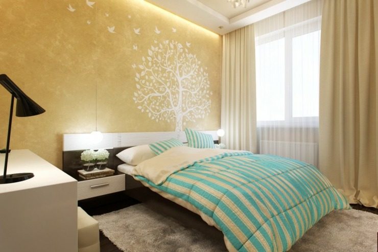 amarillo pendientes sillas detalles simbolos camas salones