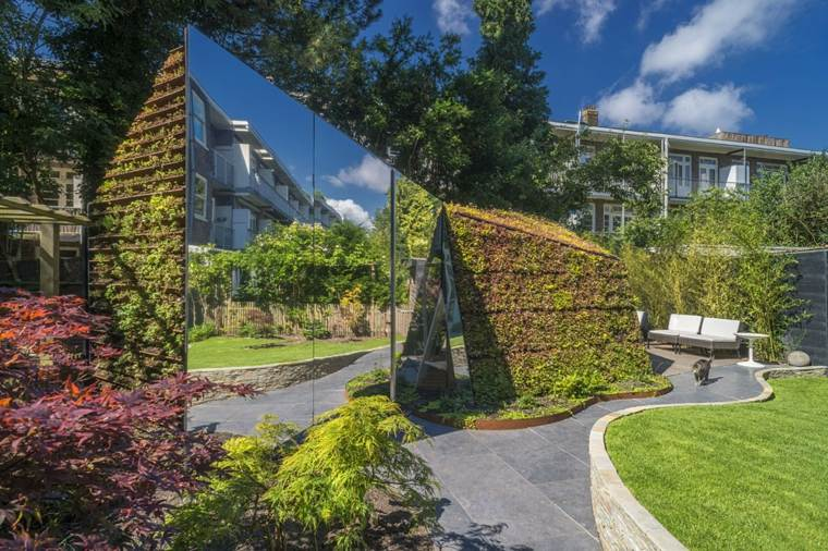 amsterdam casa tejado verde plantas