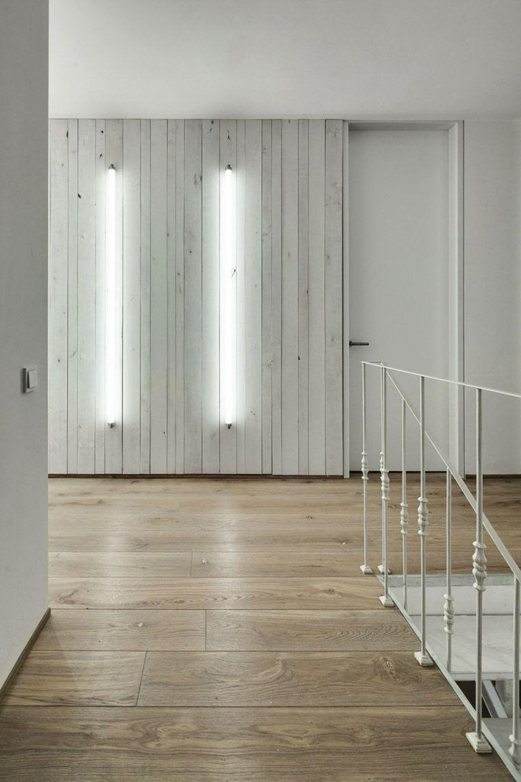 diseno monocromatico escalera sube segundo piso ideas
