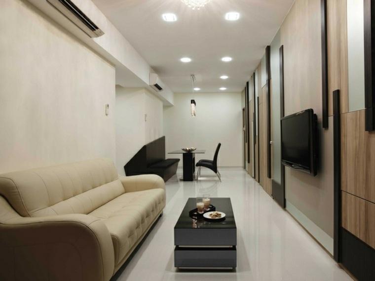 Apartamentos distribucion y dise o para interiores peque os for Apartamentos disenos modernos