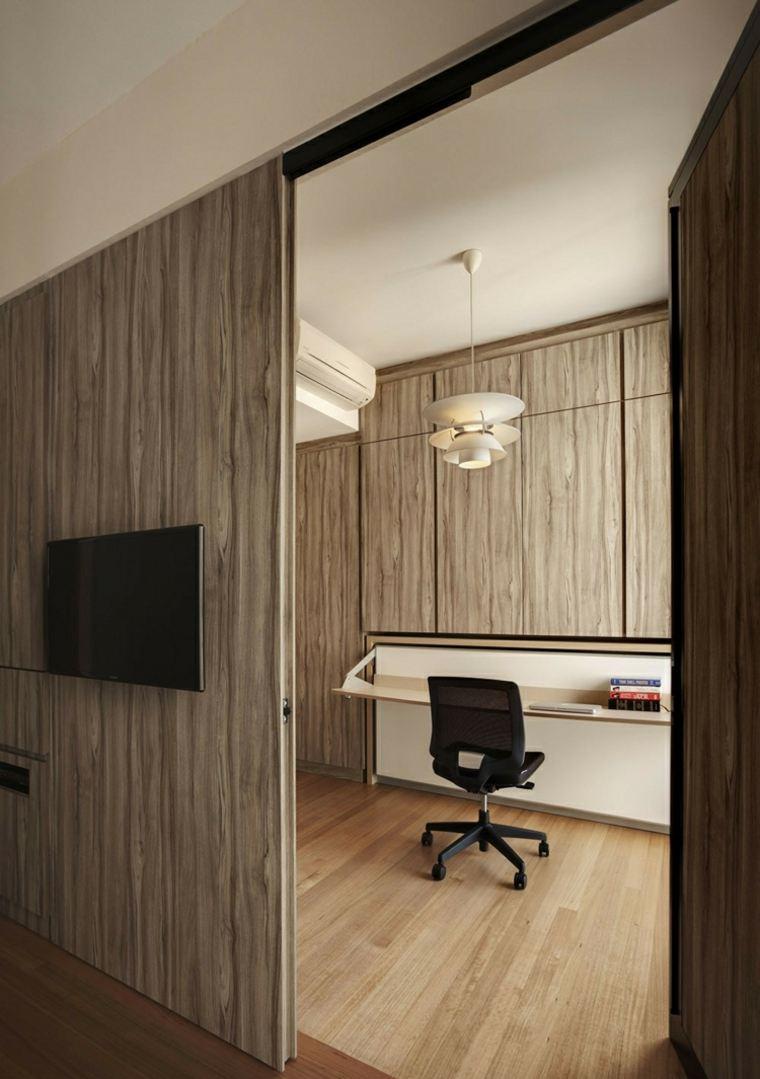 apartamentos distribucion tensiones muebles mesas