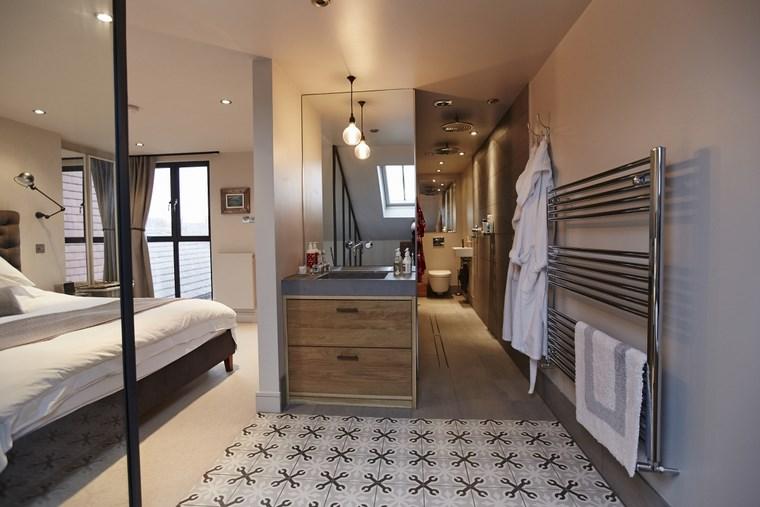 Dormitorios con vestidor y ba o 50 opciones de dise o for Espejo grande dormitorio