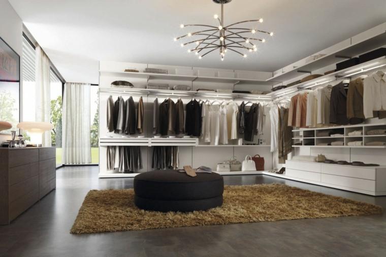 armario sin puertas amplio otomana negra ideas
