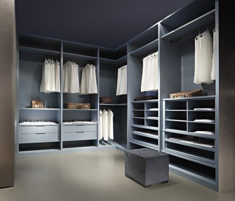 armario sin puertas color azul claro ideas