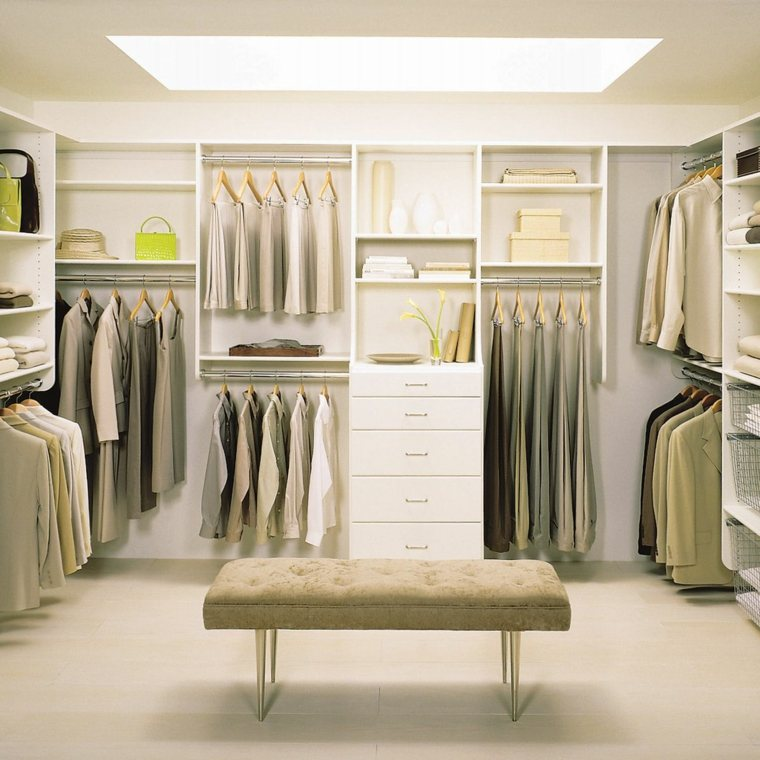 armario sin puertas color blanco luminoso ideas