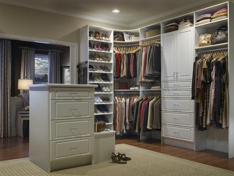 armario sin puertas esquina isla estantes ideas