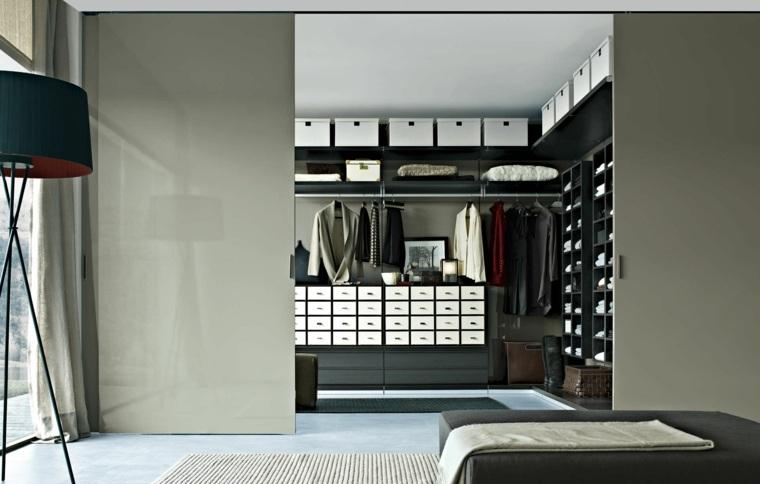 armario sin puertas muchos cajones pequenos ideas