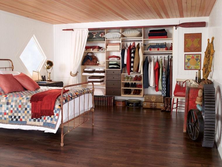 armarios roperos dormitorio diseno vintage ideas