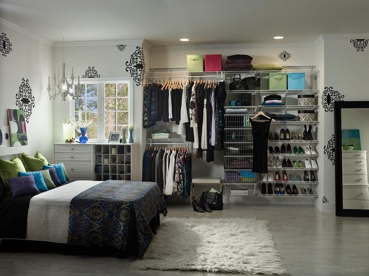 armarios roperos opciones dormitorio femenino ideas