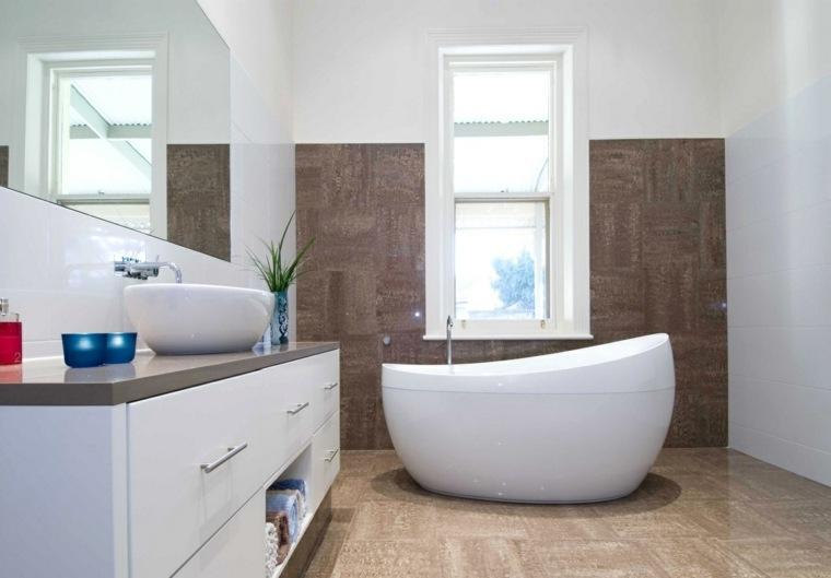 Baños Aseos Modernos:Aseos modernos clásicos o contemporáneos 50 diseños de lujo -