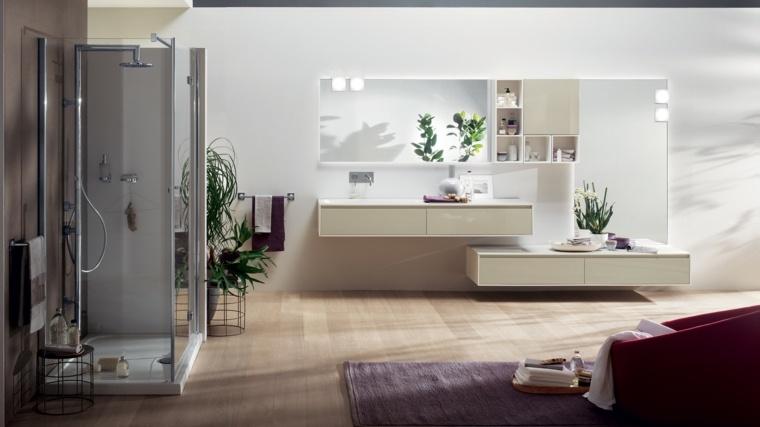 aseos modernos lavabo precioso espacios luminosos ideas
