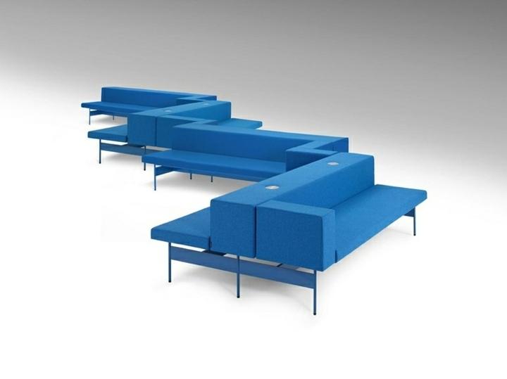 azul creativo figuras salones estilos geometrico