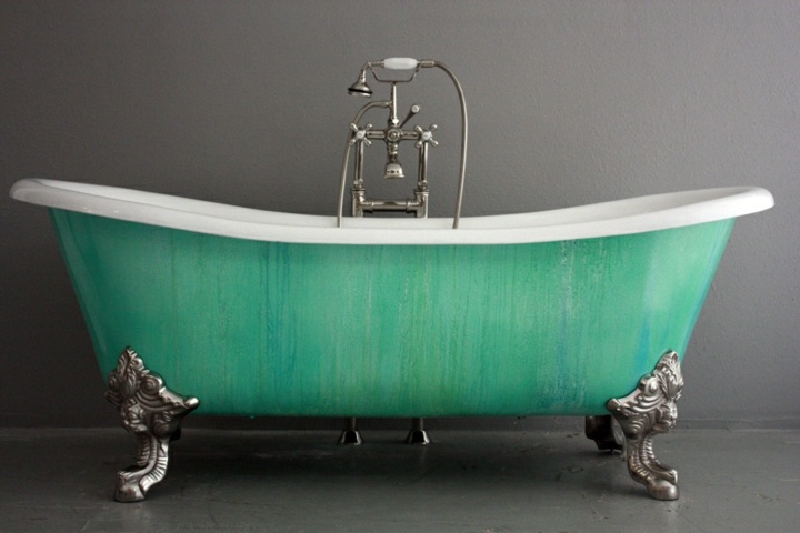 bañeras vintage detalles conceptos zonas metales
