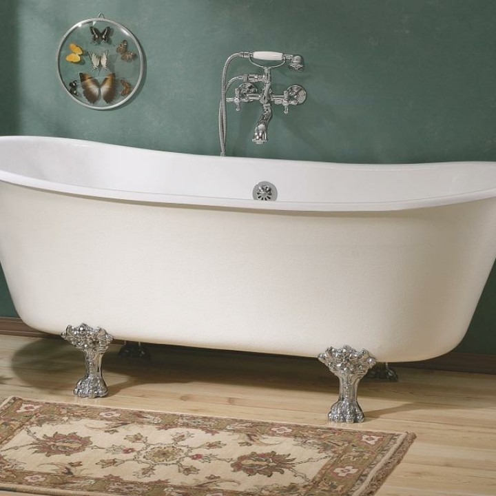 bañeras vintage detalles ideas salones mariposas