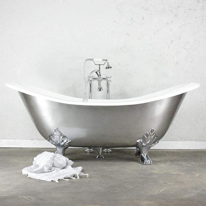 bañeras vintage detalles matices dimensiones metal