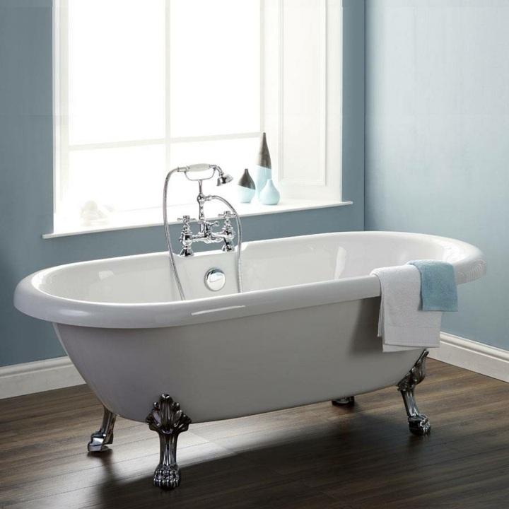 bañeras vintage detalles tendencias conceptos colores