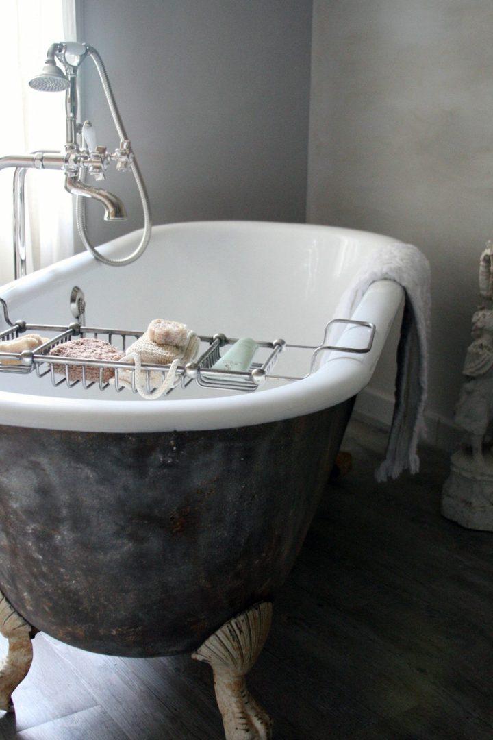 bañeras vintage detalles tendencias hierro efecto