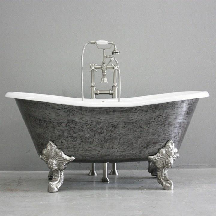 bañeras vintage detalles tendencias piezas bordes