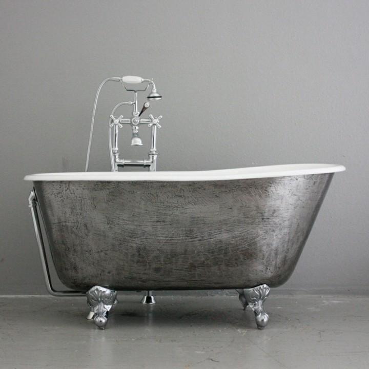 bañeras vintage detalles tendencias lineas
