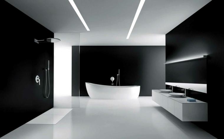 baños minimalistas diseño moderno