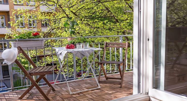 originales muebles sencillos terraza