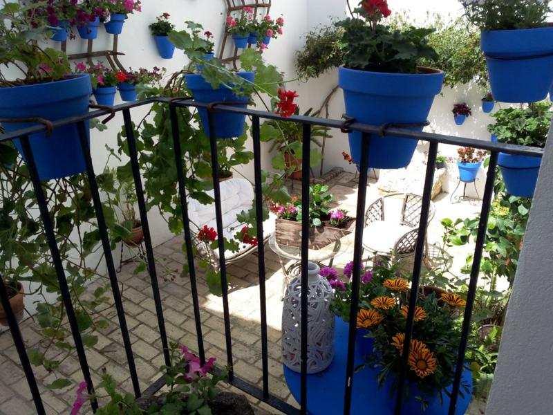 Decoracion andaluza motivos patrones y colores con encanto - Azulejos patio andaluz ...