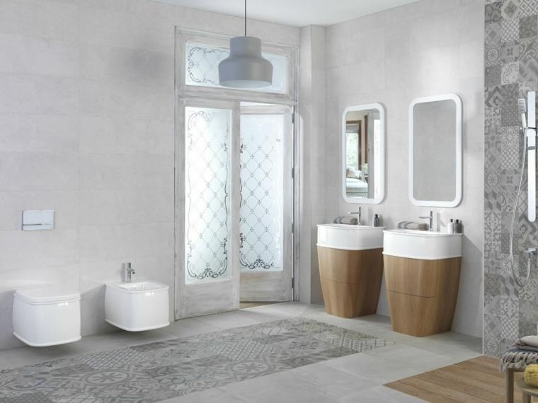 lavabos modernos de madera