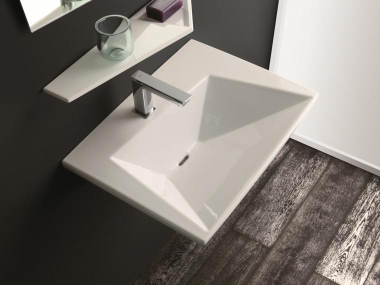 Lavabos modernos 50 opciones de diseño -