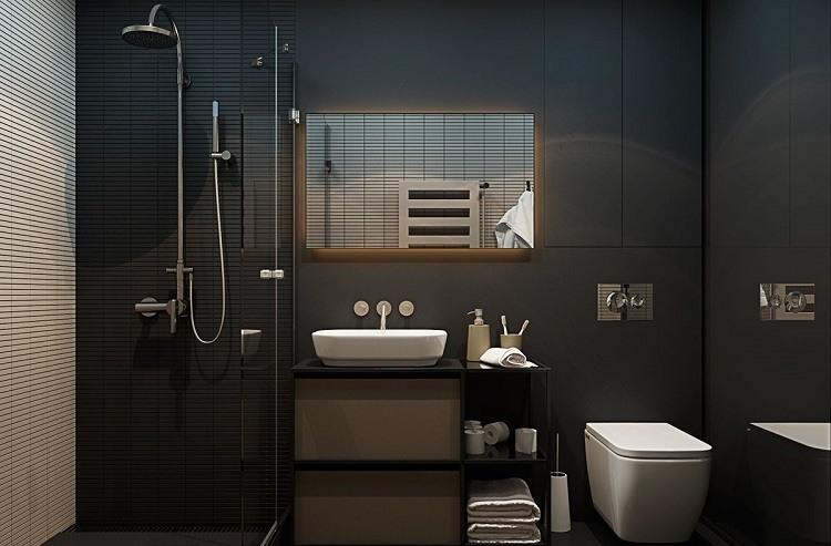 Duchas: 50 opciones para baños pequeños -