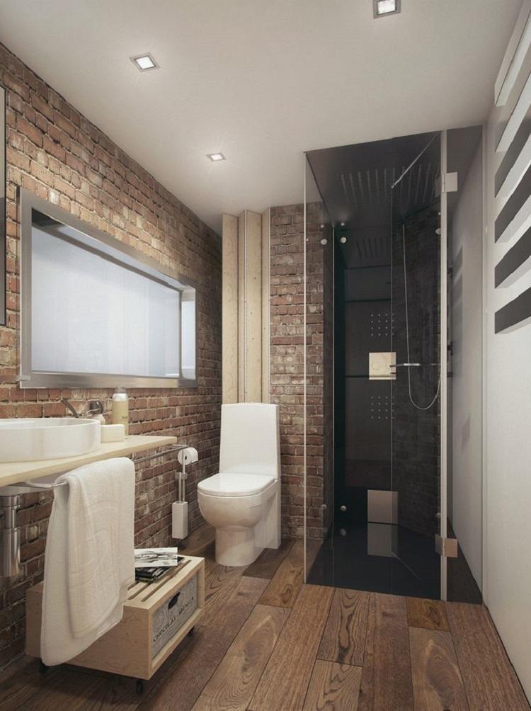 Duchas 50 opciones para ba os peque os for Ideas para lavabos pequenos