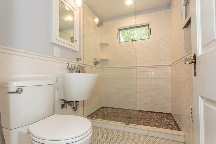 Baño Pequeno Mampara:Duchas: 50 opciones para baños pequeños -