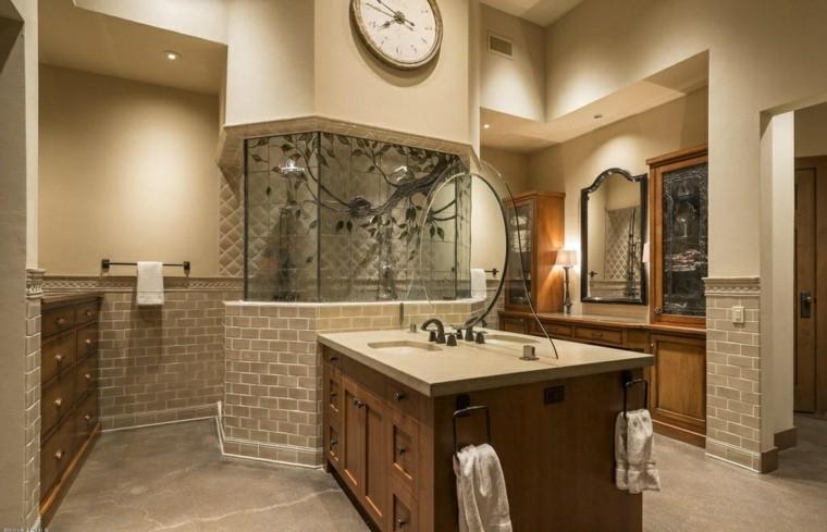 banos diseno original lavabo ducha ideas