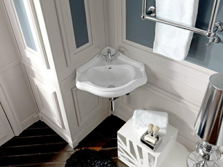 Lavabos Para Baño Esquina:Lavabo perfecto para el baño retro