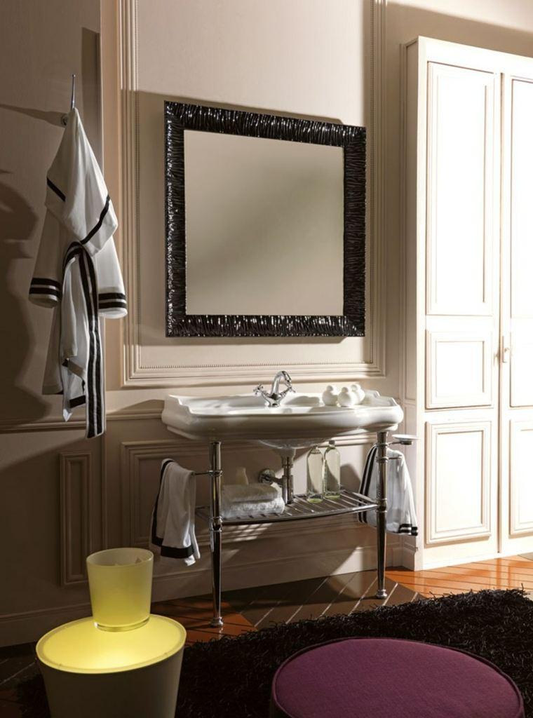Imagenes De Baño Vintage:baños retro opciones lavabo espejo ideas