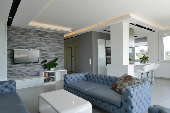 Paredes grises cincuenta propuestas para cualquier estilo for Casa minimalista interior blanco