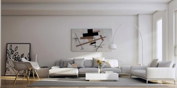 blanco paredes sillones pasteles maderas