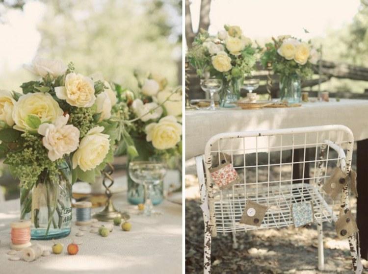 boda jardín rústica vintage boda jardín estilo