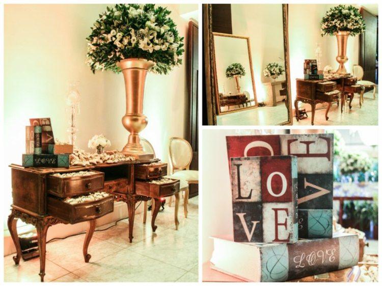 bodas vintage muebles retro cómoda