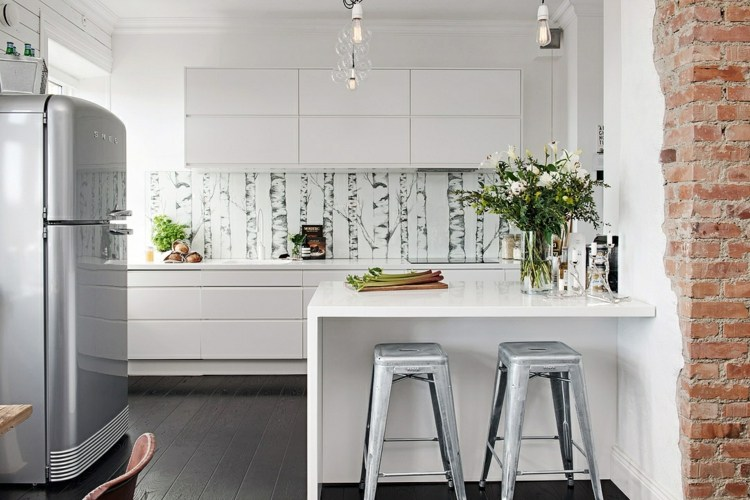 bonita diseños cocinas pequeñas modernas