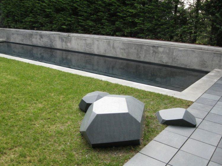 bonita decoración jardines modernos