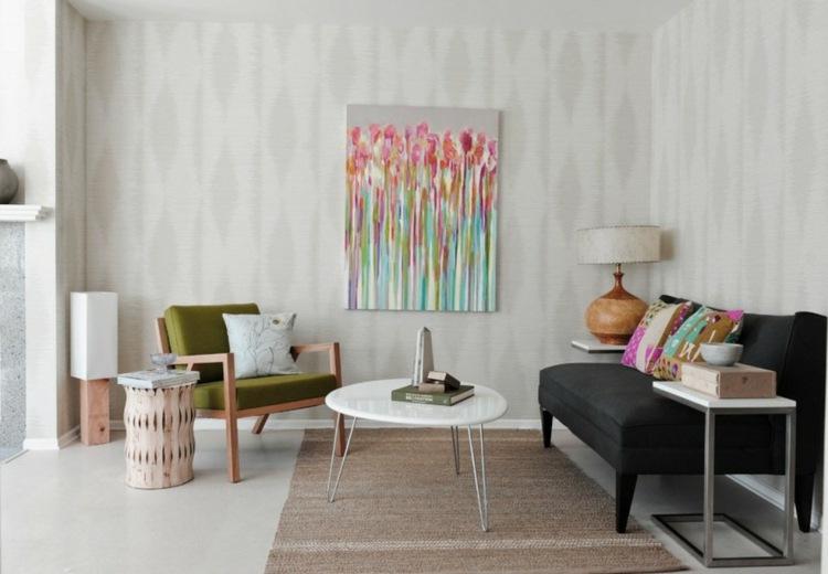 bonita decoración moderna sala