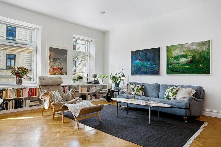 Sala De Estar Junto Con Sala De Tv ~ Decoración moderna para sala de estar