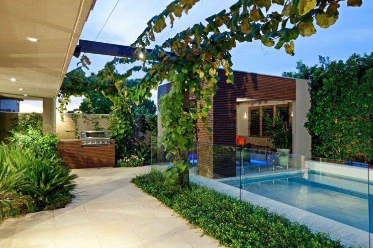 Minimalismo en el jard n 100 dise os paisaj sticos for Backyard little house